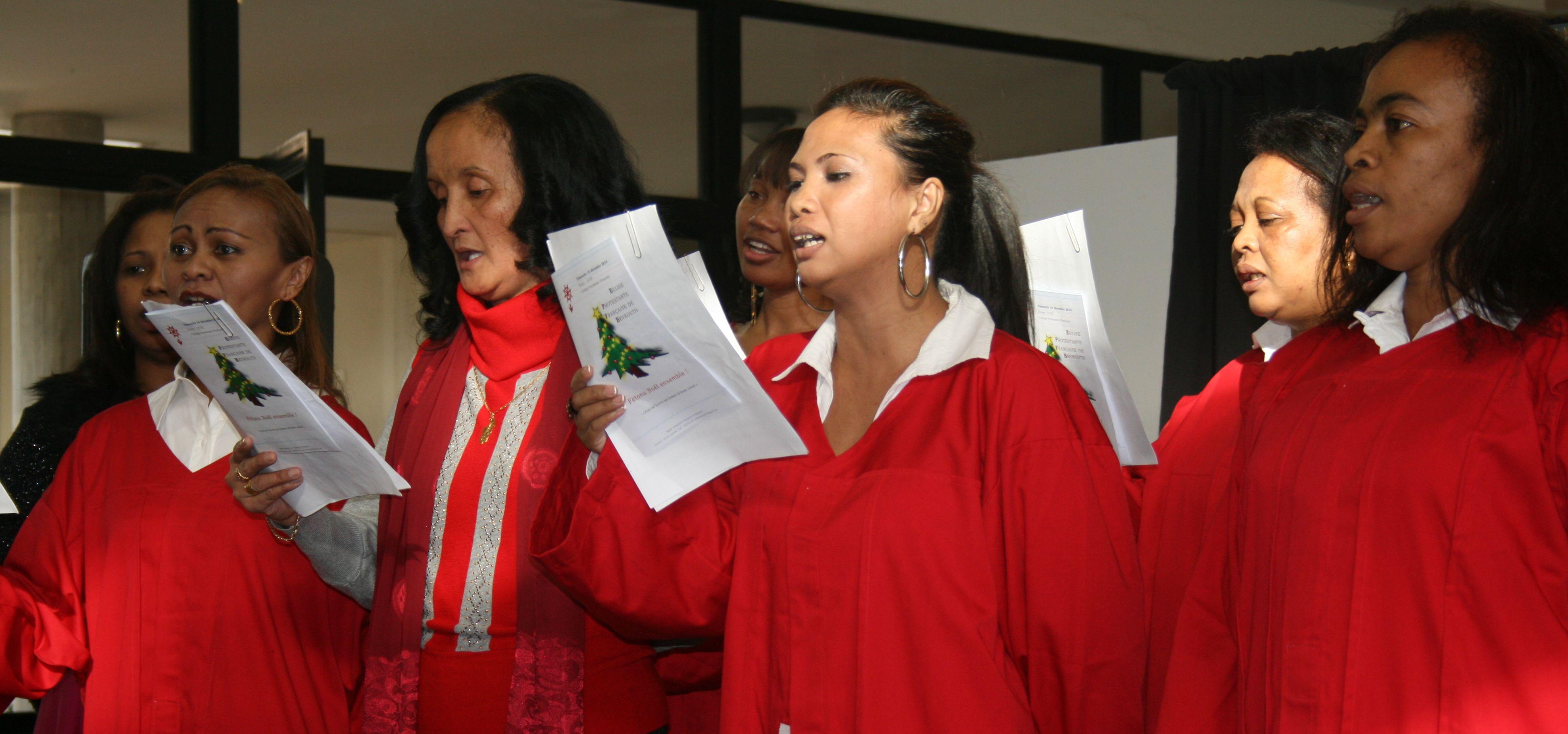 La chorale Malgache de l'Eglise protestante
